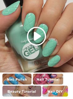 How to Get a Criss Cross Manicure darbysmart beauty nailpolish nailart naildiy naildesign nailtutorial weddingmanicure trendynails nailtutorials diynails naildesigns nailpolish naildesings naildesign polish Diy Nails, Cute Nails, Pretty Nails, How To Gel Nails, How To Marble Nails, How To Nail Art, Nail Art Designs, Nails Design, Cross Nails