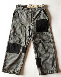 Patched pant #patch #patchwork #vintage #Mode #style #fashion #menswear