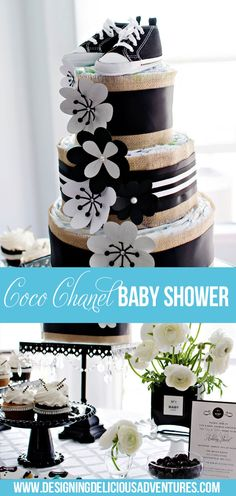 Coco Chanel Inspired Baby Shower- absolutely darling!!