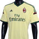New Adidas AC Milan Mens Soccer Jersey - Yellow - http://stores.ebay.com/Gear-House-Clearance/Shirts-Jerseys-/_i.html?_fsub=7467443018