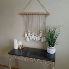 Check out this item in my Etsy shop https://www.etsy.com/listing/513559971/rustic-tassel-wall-hanging This wall hanging was inspired through Nordic design by using the concepts of simplicity and minimalism.