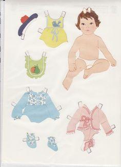 GAMLE DUKKER, OG NYE - www.dukkesiderne.dk Vintage Paper Dolls, Children, Kids, Toddlers, Contemporary, Disney Characters, Pattern, Fun, Paper Puppets