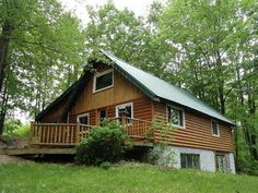 Log Sided Chalet!  11740 Nolan, Gladwin, MI.
