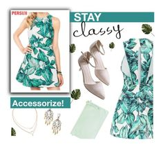 """""""Stay classy"""" by mihreta-m ❤ liked on Polyvore"""