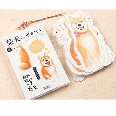 30 pcs Shiba Inu Post Card