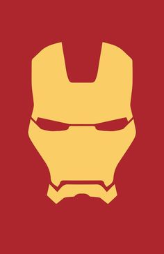 minimalist Iron Man mask by burthefly