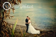 Bride and groom on the beach. Wellington weddings by PaulMichaels photography http://www.paulmichaels.co.nz/bede-dawn-wedding/