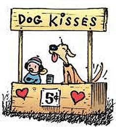 Patrick McDonnel, Jungle Swings. Dog Kisses 5¢.