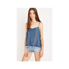 BDG Chambray Cami - Urban Outfitters (£36) via Polyvore