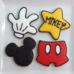 Mickey Cookies (for Mikey)