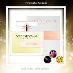 FRESHIA YODEYMA - Nina Ricci - Nina jellegű  www.natur-krem.hu  #yodeymafreshia,#yodeyma, #yodeymaparfüm, #ninaricci