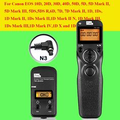 24.89$  Watch now - http://aligqi.shopchina.info/go.php?t=32411043716 - Pixel TW283 TW-283 N3 Wireless Timer Remote Control For Canon 7D 5D Mark ii 1D 6D 7D2 5D3 50D 40D 30D 10D Camera Shutter Release 24.89$ #shopstyle