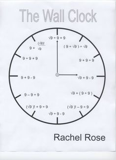 Triple Nine Wall Clock Rachel Rose - Projects are normally a way to culminate a lesson or concept and allow students to visualize and artistically internalize their learning.