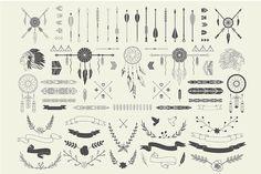 Check out Aztec embellishments by Lera Efremova on Creative Market