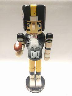 PITTSBURGH STEELERS NFL HOLIDAY NUTCRACKER CHRISTMAS | Sports Mem, Cards & Fan Shop, Fan Apparel & Souvenirs, Football-NFL | eBay!