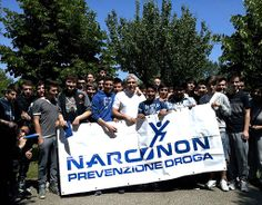 Drug education reaches the youth of Italy.