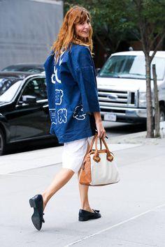 NYFWストリートスタイル写真集 - 2015年春ニューヨークファッションウィークストリートスタイル写真 - エル