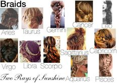 Style of Braids for the Zodiac Signs. Cancer Zodiac Sign♋ <===== ♏️Scorpio more of an aries Zodiac Signs Astrology, Zodiac Signs Horoscope, Zodiac Capricorn, Zodiac Art, Zodiac Star Signs, Zodiac Cancer, Zodiac Memes, Zodiac Clothes, Zodiac Sign Fashion