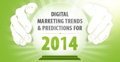 Die digitalen Marketingtrends für 2014 [Infografik]