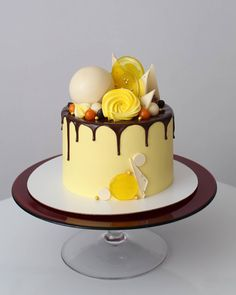 """451 Likes, 15 Comments - Узельман Ольга (@uzyaolga) on Instagram: """"В каждом человеке есть солнце. Дарите тепло и доброту Солнечный тортик для солнечной имениннице.…"""""""