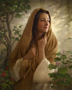 The Way of Joy - by Greg Olsen... Mary kept all these things and pondered them in her heart.