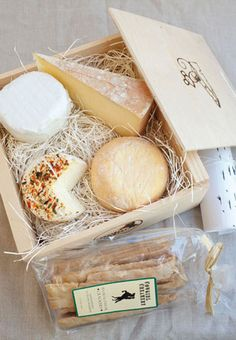 For an alternative Valentine's Day, try a deluxe assortment from Cowgirl Creamery