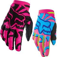 Fox Racing Dirtpaw MX Girls Off Road Dirt Bike Motocross Gloves