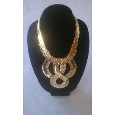 PurpleGlass Boutique | Infinity Necklace | Online Store Powered by... via Polyvore
