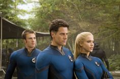 Still of Jessica Alba, Chris Evans and Ioan Gruffudd in Fantastic 4: Rise of the Silver Surfer (2007)