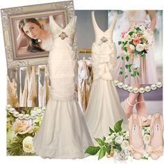 """designer bride"" by emilyp2010 ❤ liked on Polyvore"