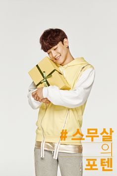 Twitter / SMTownFamily: {PROMO} 140514 Chen for Sunny10's promotional picture
