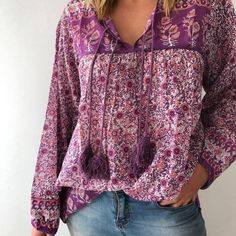 "161 Likes, 12 Comments - LITTLE GYPSY CO (@littlegypsy_co) on Instagram: ""Ladies Luna Blouse ~ Lavender // Vintage Inspired & made from beautiful billowy Indian cotton.…"""
