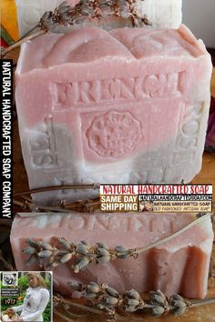 French lavender Jasmine Soap is an exotic, subtle floral scent. is trusted to open the heart chakra that is responsible for love . Organic Coconut Oil, Organic Oil, Lye Soap, French Soap, Rose Clay, Shea Butter Soap, French Lavender, Therapeutic Grade Essential Oils, Lavender Scent