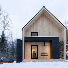 Container House - Villa Boréale / Charlevoix, Quebec // Cargo Architecture Who Else Wants Simple Step-By-Step Plans To Design And Build A Container Home From Scratch? Scandinavian Architecture, Architecture Design, Sustainable Architecture, Dezeen Architecture, Residential Architecture, Amazing Architecture, Architecture Office, Enterprise Architecture, Minimal Architecture