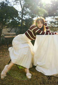 Han Seung Yeon, Look Magazine, Korean Girl Groups, Asian Woman, Kpop Girls, Asian Beauty, Korean Fashion, Women's Fashion, Singer