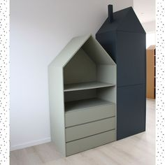 Ikea Hack Kids, Ikea Kids Room, Kids Bedroom, Baby Room Decor, Diy Bedroom Decor, Home Decor, Ikea Malm, Black And White Baby, Black Decor
