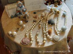 Vermeer Passamaneria オリジナルアクセサリー ***「Chez Mimosa シェ ミモザ」   ~Tassel&Fringe&Soft furnishingのある暮らし  ~   フランスやイタリアのタッセル・フリンジ・  ファブリック・小家具などのソフトファニッシングで  、暮らしを彩りましょう     http://passamaneriavermeer.blog80.fc2.com/