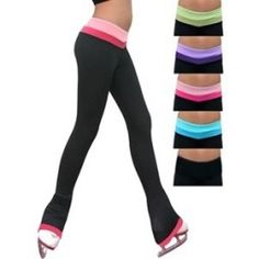Chloe Noel Women's Reversible 2tone Pants with Colored Cuff by at Rainbo Sports. #sk8dream