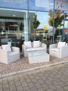 Rattan Garden Furniture Grey details about rattan garden furniture set sofa outdoor