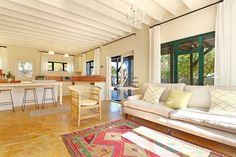3 Bedroom Self Catering Holiday Home in Kommetjie   Review from a very happy guest: What a wonderful place. A big house and garden to explore, with loads of great touches, and all the practical amenities a family needs  the hosts have set-up everything. On arrival (self-checkin to keep social distancing) there was a lovely welcoming basket, with wine and snacks, even a giant emoji biscuit for our lil guy. Large Open Plan Kitchens, Open Plan Kitchen Dining, Cape Town Holidays, Holiday Accommodation, Big Houses, Double Beds, Wonderful Places, Emoji, Biscuit