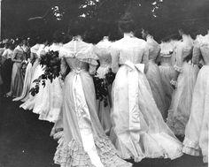 A graduation ceremony, 1895.