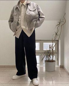 Korean Fashion Men, Korean Street Fashion, Korean Streetwear, Streetwear Fashion, Street Style Boy, Stylish Mens Outfits, Casual Outfits, Korean Outfits, Unisex Fashion