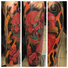 Updates from last week: A really fun Raijin tattoo I did last week in NYC. Thanks for traveling up and sitting like a champ Jason!