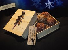 Fire Starter FireBall  eco friendly  Gift by AttitudeNature, $15.00  -  rustic, fireplace, boxed, nice gift.  project?      lj