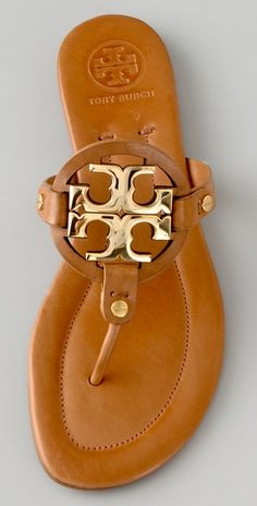 summer sandals I Tory Burch