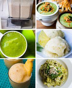 Recipes w/ a Vitamix.one day I'll own a Vitamix! Blender Recipes, Raw Food Recipes, Cooking Recipes, Healthy Recipes, Smoothies, Smoothie Recipes, Clean Eating, Healthy Eating, Healthy Food