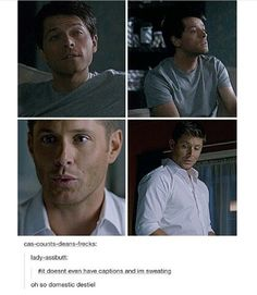 Domestic Destiel makes my heart oh so happy