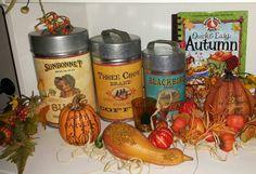 Autumn shelf.