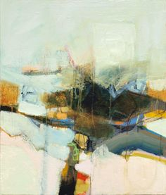 Bob Hunt-<b>Reflecting on Where I've Been</b><br>Acrylic on Canvas, 36 x 30<br>Houshang's Gallery