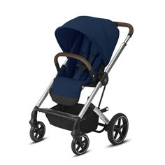 Silla de paseo Cybex Balios S Lux Slv Navy Blue azul Sun Canopy, Cocoon, Travel System, Natural Baby, Child Safety, Baby Car Seats, New Baby Products, Baby Strollers, Navy Blue